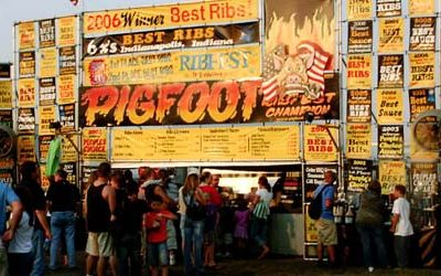 Pigfoot BBQ Cooking Team